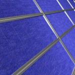 Close up of solar panel array — Stock Photo