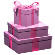 Pink gifts — Stock Photo