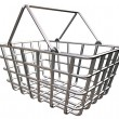 Stylized Shopping Basket - Stock Photo