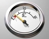 Pound gauge — Stock Photo