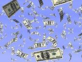 Money from heaven — Stock Photo