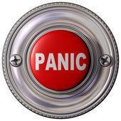 Panic Button — Stock Photo