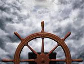 Rijden de storm — Stockfoto