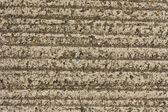 Grooved concrete floor — Stock Photo