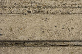 Grooved concrete wall — Stock Photo