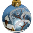 Christmas tree ball — Foto de Stock