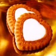 Royalty-Free Stock Photo: Heart like biscuits