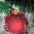 Christmas tree ball — Stockfoto