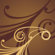 Vector de stock : Chocolate pattern 2