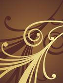 Chocolade patroon 1 — Stockvector