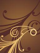 Choklad mönster 2 — Stockvektor