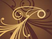 チョコレート パターン 3 — ストックベクタ