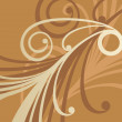 Golden ornament 1 — Vector de stock #2215350