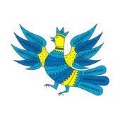 Decorative bird 3 — Stock Vector