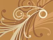 黄金の飾り 1 — ストックベクタ