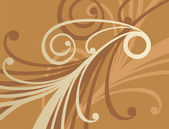 Golden ornament 1 — Vector de stock