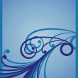 Stockfoto: Pattern blue 2