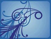 Pattern blue 1 — Stock Photo