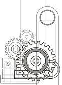 The mechanism 1 — Stock Photo