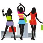 Summer fashion 3 — Stock Vector