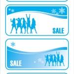 Noel satışı 3 — Stok Vektör