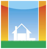 New small house 1 — Stock Vector