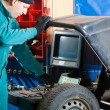 Mechanic in garage — Stock Photo #2373613