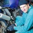 Royalty-Free Stock Photo: Mechanic in garage
