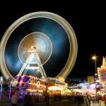 Carousel at night — Stock Photo