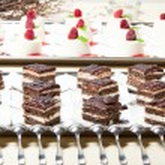 Desert cakes — Stock Photo
