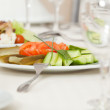 Salad plate — Stock Photo