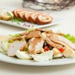 Salad plate — Stock Photo