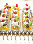 Fruit deserts — Stock Photo