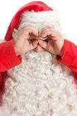 Funny Santa Claus — Stock Photo