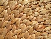 Straw mat texture — Stock Photo