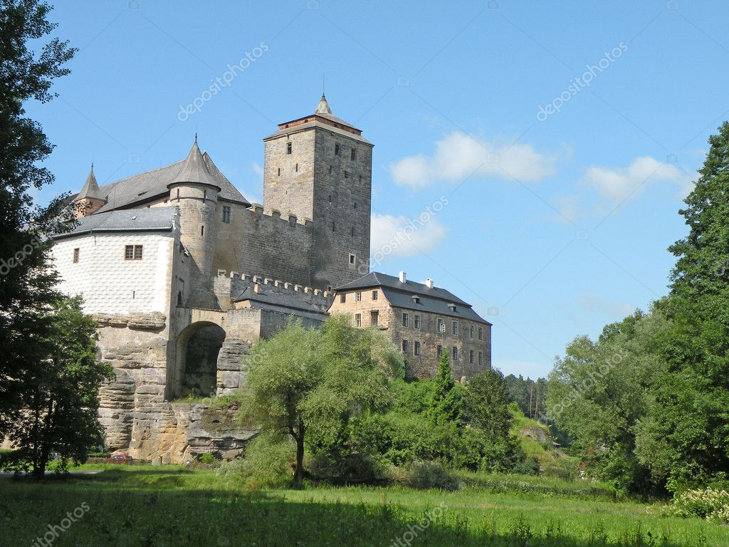 Medieval castle in the Czech Republic, Europe       — Stock Photo #2221801