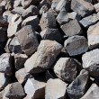 Grey bricks pile - Photo