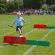 Stock Photo: Boy running