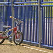 Child's bike - Stock Photo