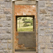 Stock Photo: Open doorway