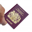 Stock Photo: British Passport