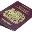 British Passport - Stock Photo