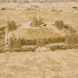 Sandcastle — Stock Photo
