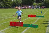 Boy running — Stock Photo