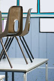 School Chairs — Stock Photo