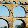 Pont du Gard detailed - Stock Photo