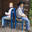 Foto Stock: Country-kids