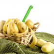 Basket with potatoes — Stock Photo #2222668