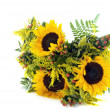 A bunch of sunflowers — Stock Photo