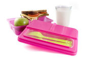 Healthy lunchbox — Stock Photo